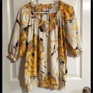 EUC New York company blouse size XL